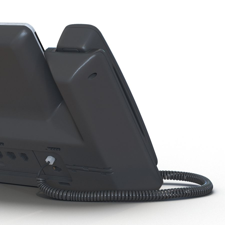 Telefone IP Cisco 8861 royalty-free 3d model - Preview no. 16