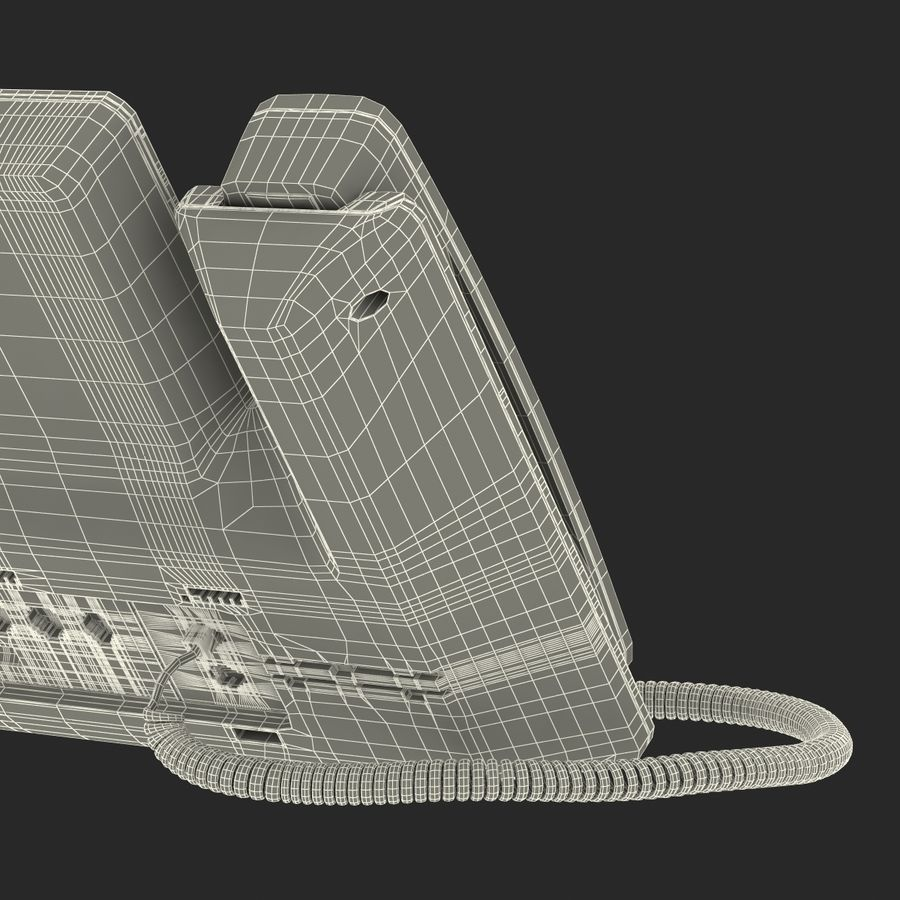 Telefone IP Cisco 8861 royalty-free 3d model - Preview no. 38
