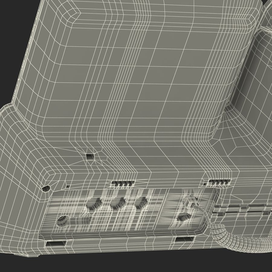 Telefone IP Cisco 8861 royalty-free 3d model - Preview no. 39