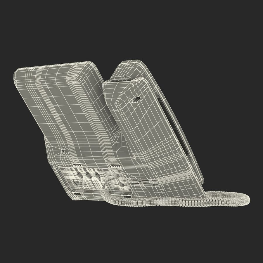 Telefone IP Cisco 8861 royalty-free 3d model - Preview no. 29