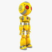 机器人角色 3d model