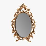 Specchio ornato 3d model