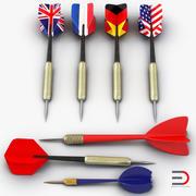 Dart Needles 3D Modelsコレクション 3d model