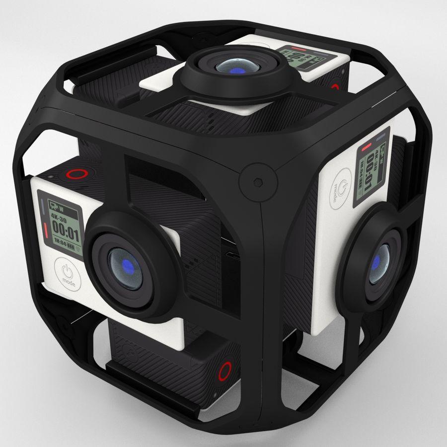 Virtual Reality Camera Rig royalty-free 3d model - Preview no. 2