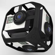 Камера виртуальной реальности 3d model