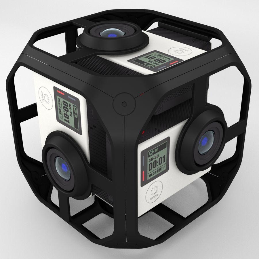 Virtual Reality Camera Rig royalty-free 3d model - Preview no. 4
