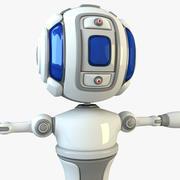 X Scifi Robot 3d model