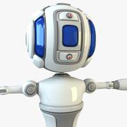 X Scifi-Roboter 3d model