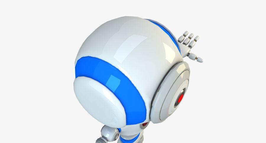 Robot karakter royalty-free 3d model - Preview no. 7