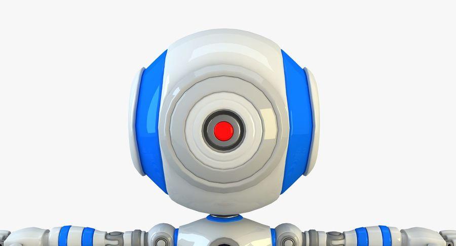 Robot karakter royalty-free 3d model - Preview no. 6