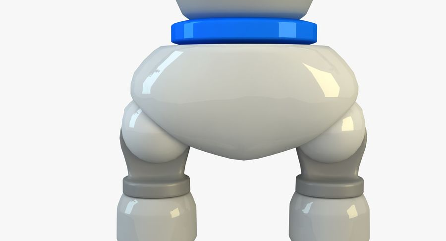 Robot karakter royalty-free 3d model - Preview no. 12