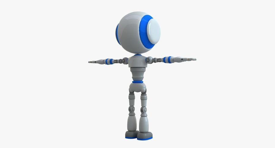 Robot karakter royalty-free 3d model - Preview no. 2