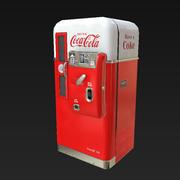 Distributore automatico vintage 3d model