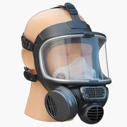 安全防毒面具Promask 3d model