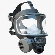 安全防毒面具 3d model
