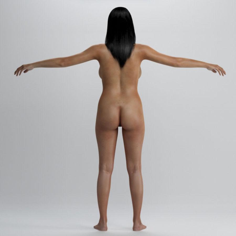 Skönhet kvinna 2 royalty-free 3d model - Preview no. 7