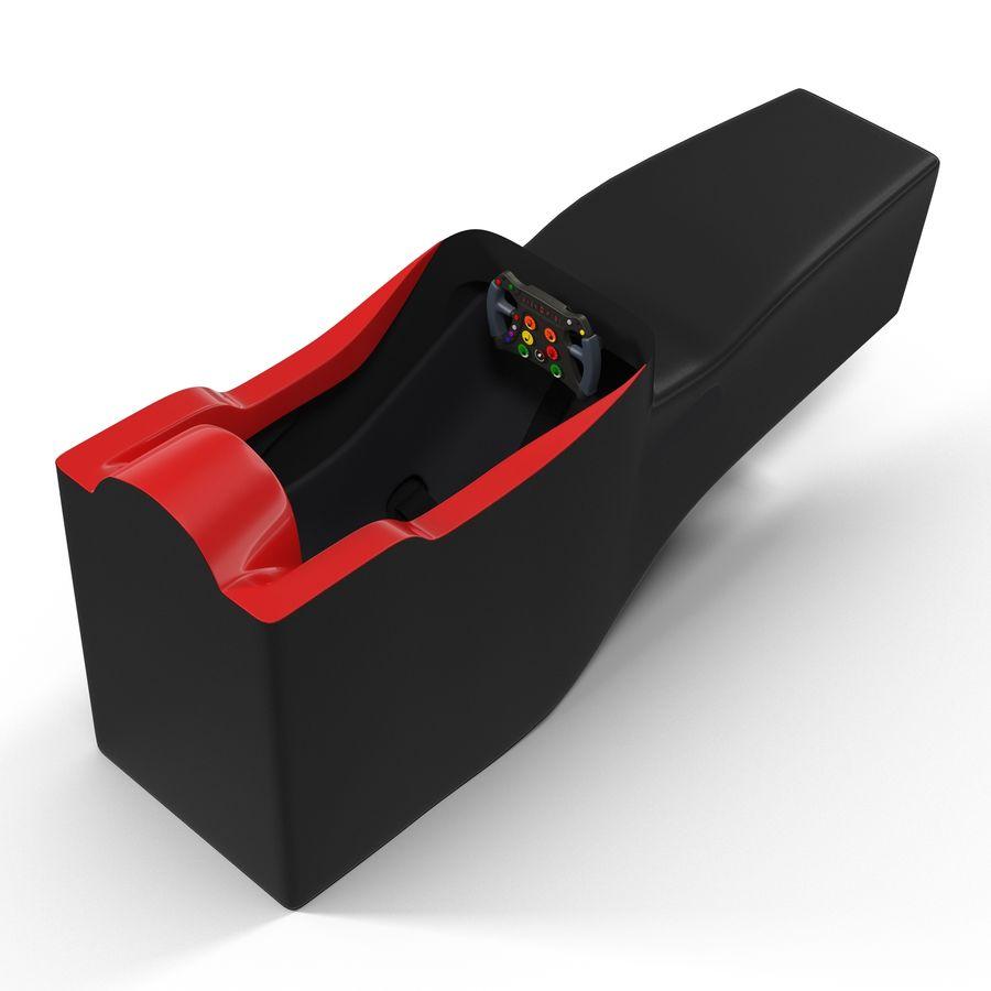 Formula One Cockpit Modèle 3D royalty-free 3d model - Preview no. 3