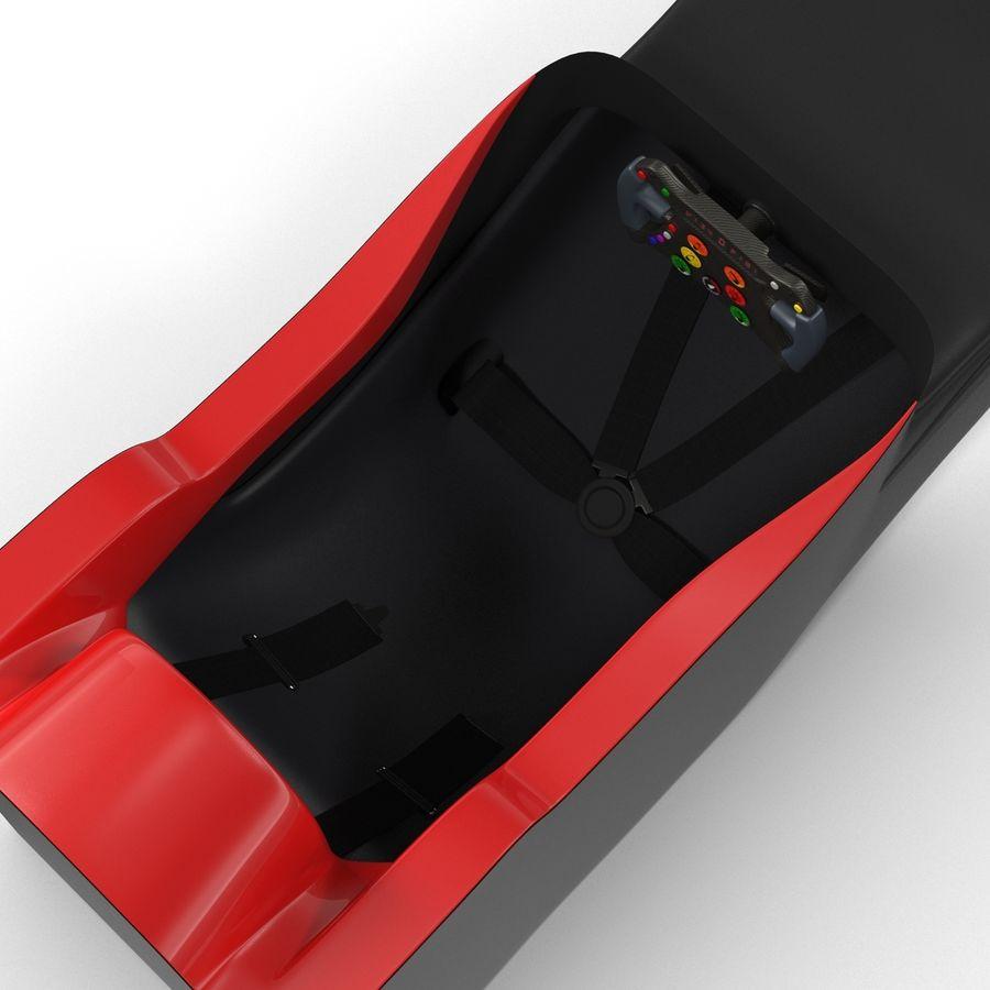 Formula One Cockpit Modèle 3D royalty-free 3d model - Preview no. 8