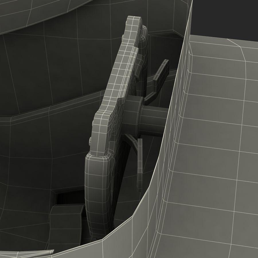 Formula One Cockpit Modèle 3D royalty-free 3d model - Preview no. 25