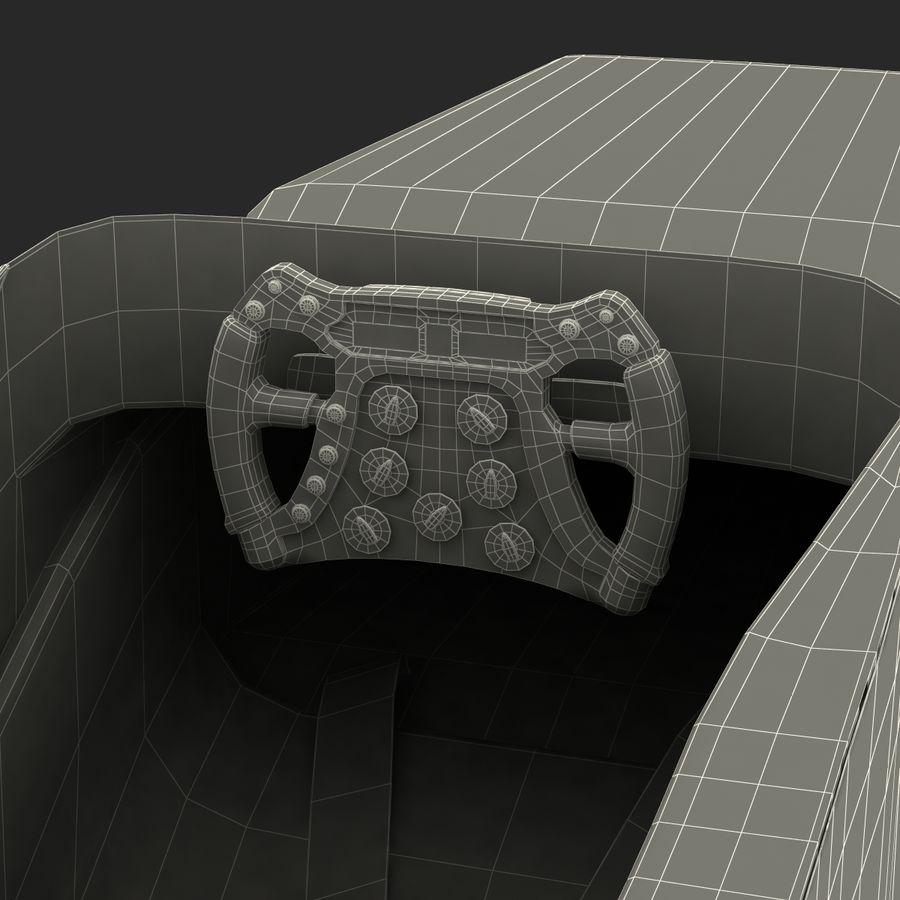 Formula One Cockpit Modèle 3D royalty-free 3d model - Preview no. 24
