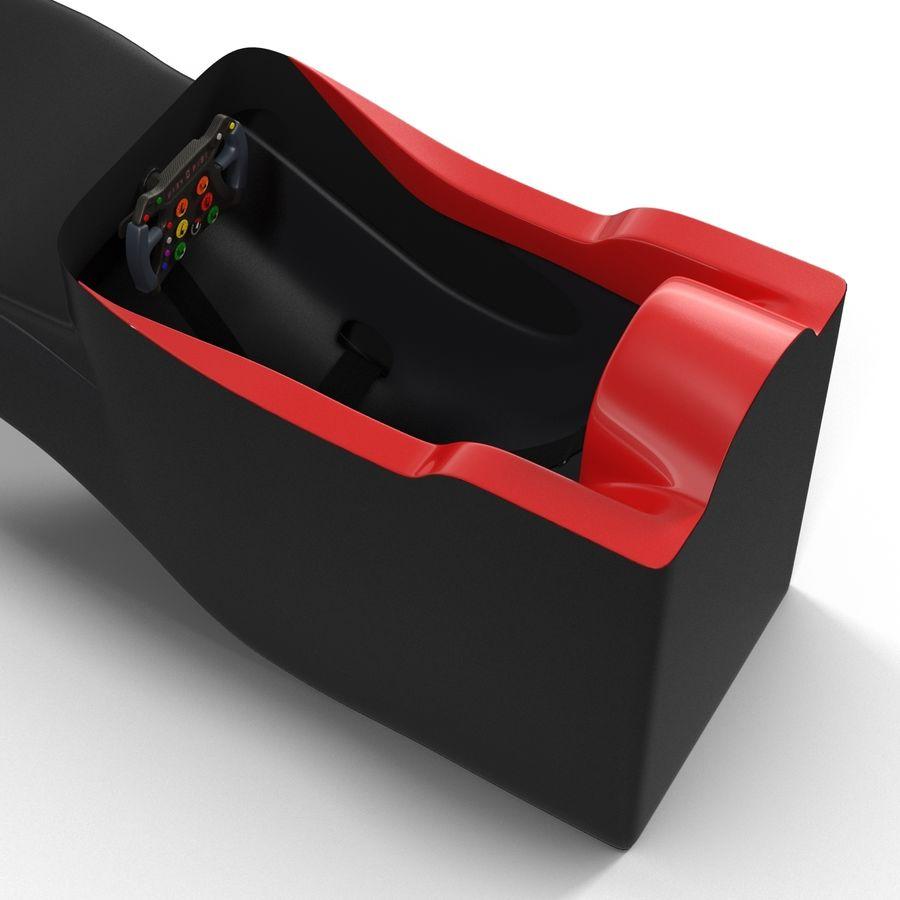 Formula One Cockpit Modèle 3D royalty-free 3d model - Preview no. 7