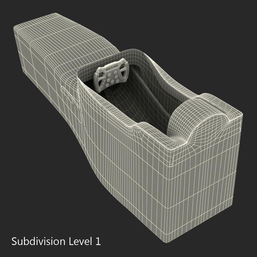 Formula One Cockpit Modèle 3D royalty-free 3d model - Preview no. 13