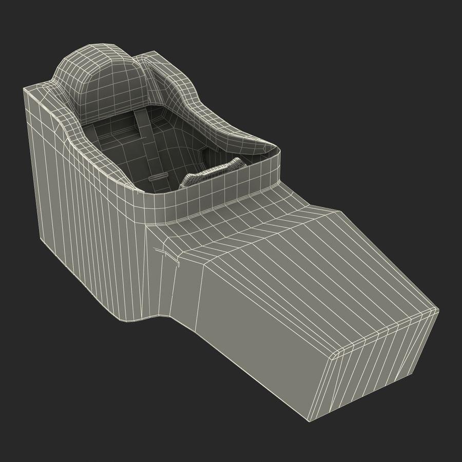 Formula One Cockpit Modèle 3D royalty-free 3d model - Preview no. 19