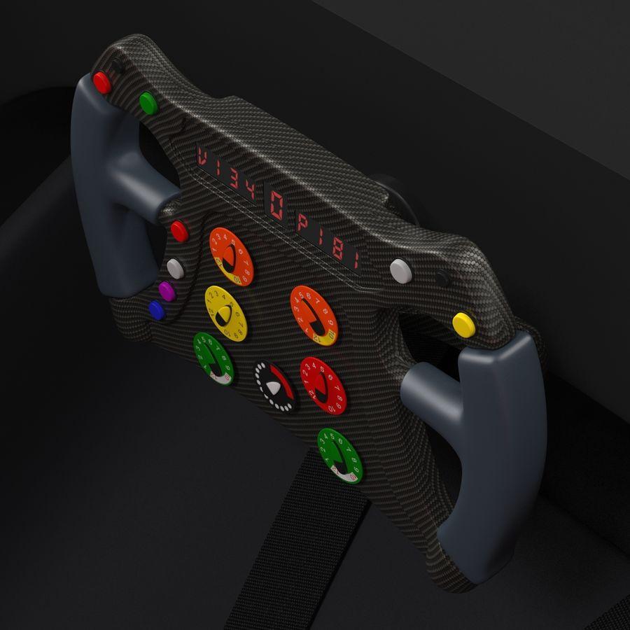 Formula One Cockpit Modèle 3D royalty-free 3d model - Preview no. 9