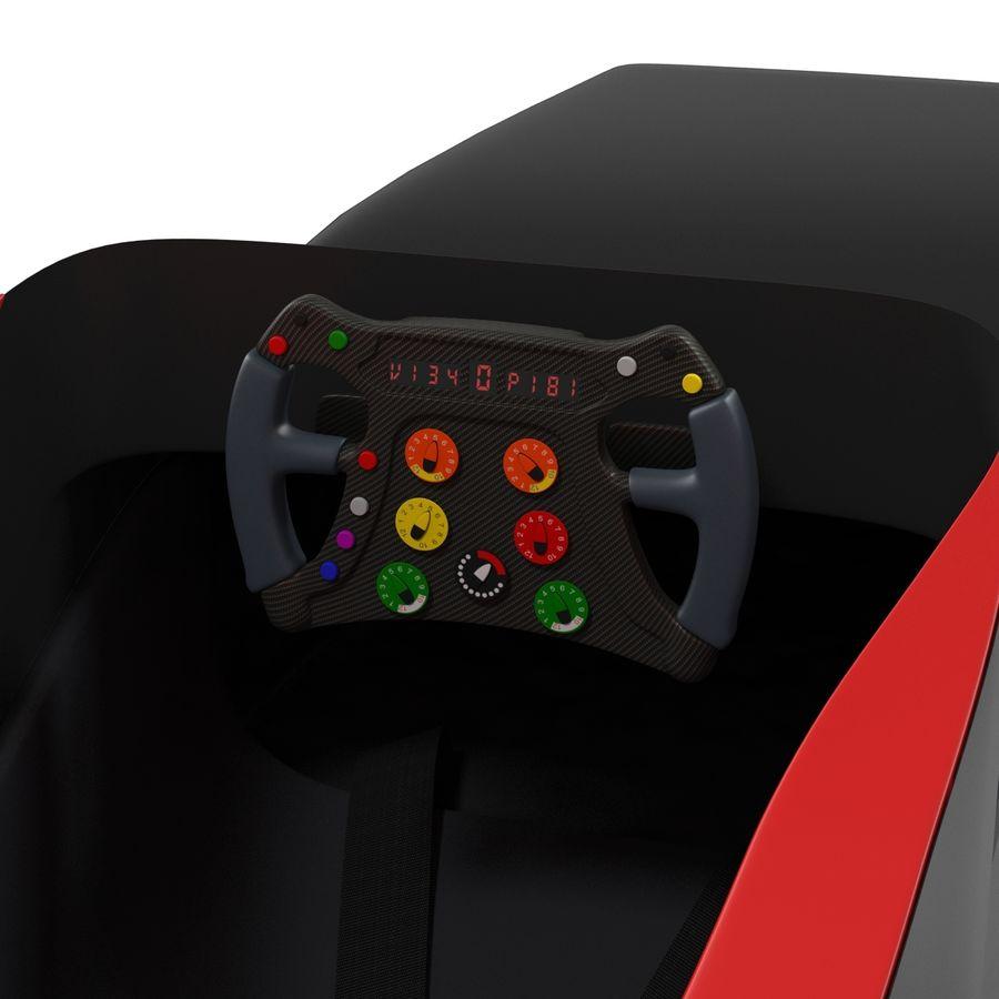 Formula One Cockpit Modèle 3D royalty-free 3d model - Preview no. 2