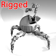 Robot örümceği 3d model