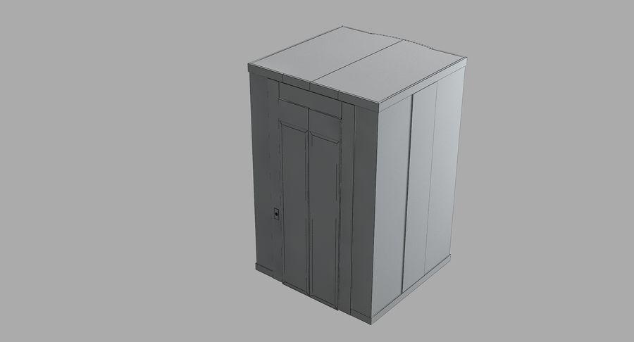 透明玻璃电梯 royalty-free 3d model - Preview no. 10