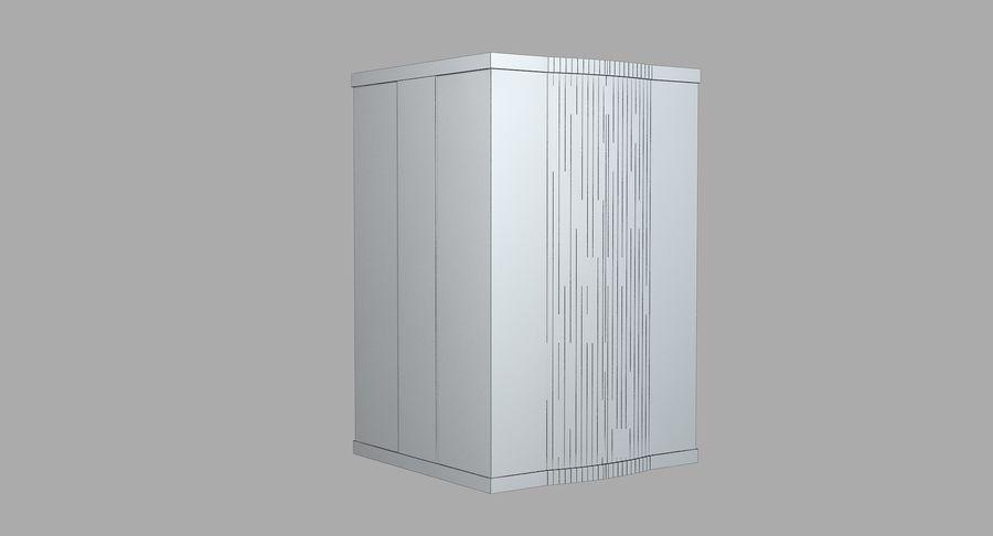 透明玻璃电梯 royalty-free 3d model - Preview no. 9