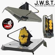 JWST 3d model