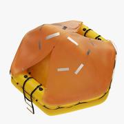 Balsa salvavidas modelo 3d