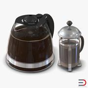 Coffee Pots 3D 모델 컬렉션 3d model