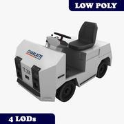 Tractor de equipaje Charlatte TE-208 con LOD modelo 3d