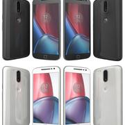 Motorola Moto G4 Plus Black And White 3d model