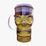 Copo de cerveja 3d model