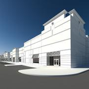 Einzelhandel und Lager 2 3d model