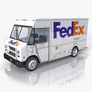 联邦快递邮政卡车 3d model