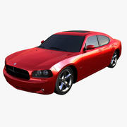 Dodge Charger RT Without Interior 3d model