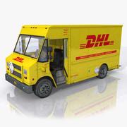 DHL Post Truck 3d model