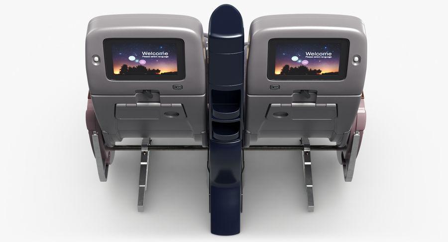 비행기 의자 royalty-free 3d model - Preview no. 16
