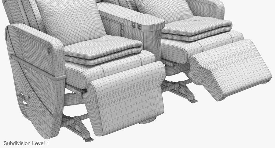 비행기 의자 royalty-free 3d model - Preview no. 43