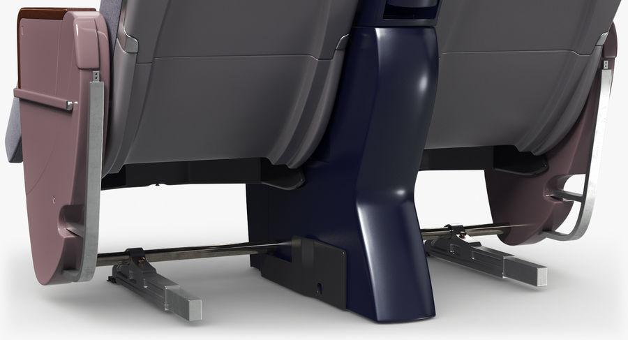 비행기 의자 royalty-free 3d model - Preview no. 28