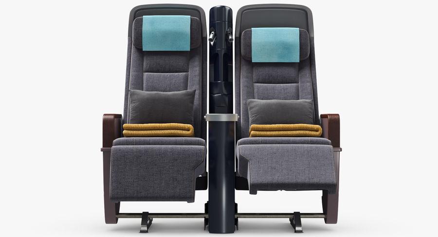 비행기 의자 royalty-free 3d model - Preview no. 17
