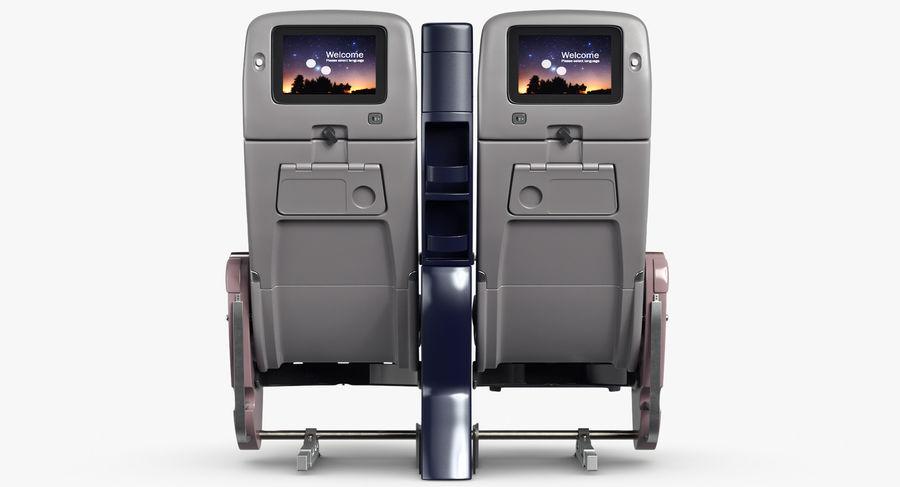 비행기 의자 royalty-free 3d model - Preview no. 19