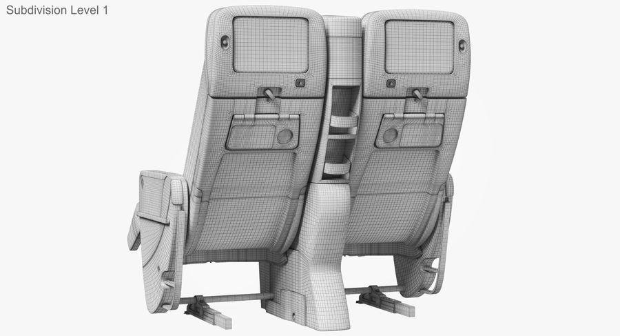 비행기 의자 royalty-free 3d model - Preview no. 39