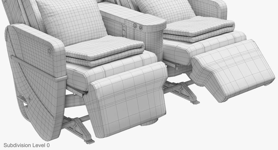 비행기 의자 royalty-free 3d model - Preview no. 42