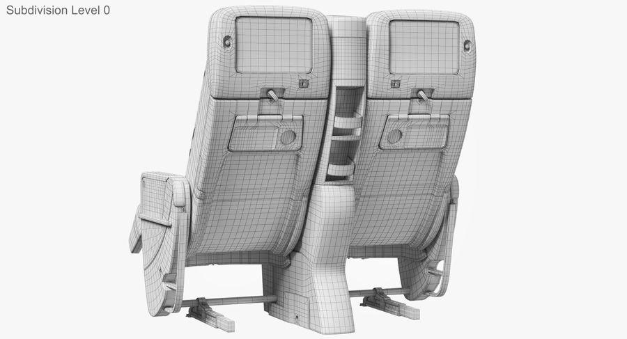 비행기 의자 royalty-free 3d model - Preview no. 38